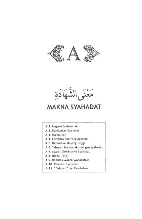 A. MAKNA SYAHADATAIN