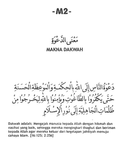 M.2. Makna Dakwah